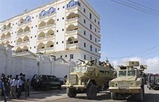 Cumhurbaşkanının kaldığı otelde patlama