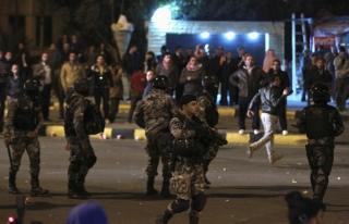 Ürdün'den eylemlere 'demir yumruk tehdidi