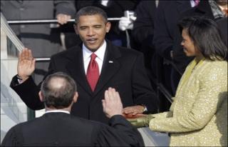 Obama, başkanlık yemini etti