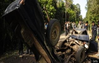 Tayland'da askeri araca saldırı: 5 ölü