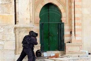 İsrail'den Mescid-i Aksa Müdürü'ne gözaltı