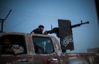 Suriye'deki muhalif grupların dağılımı GRAFİK