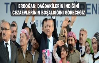 Erdoğan: Cezaevleri boşalacak, dağdakiler inecek