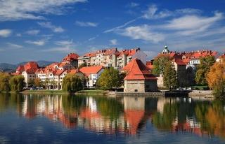 Slovenya'nın Maribor şehri ve kayıp cami