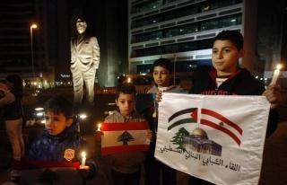 Lübnan'da eski Başbakan Hariri anıldı