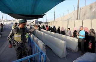 İsrail'den Gazzelilere Mescid-i Aksa kısıtlaması