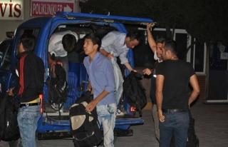 Ege Denizi'nde 101 kaçak yakalandı