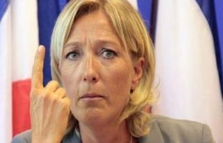 Le Pen'den 'göçmen alımını durdurun' çağrısı