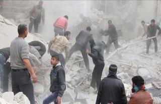 Esed rejimi sekiz ayda 4 binden fazla varil bombası...