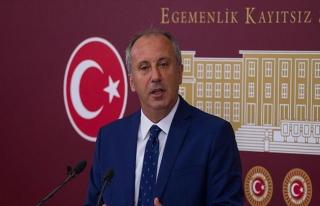 İnce'den Cumhurbaşkanı Erdoğan için tepki çeken...