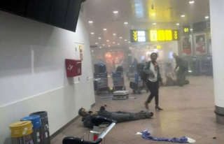 Brüksel'de art arda patlamalar: 23 ölü