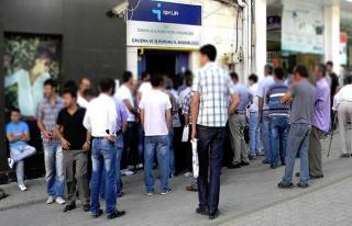 İşsiz sayısı azaldı