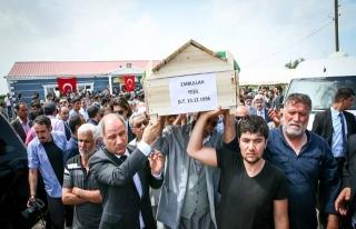 D.Bakır'da PKK saldırısında ölenlere hazin tören...