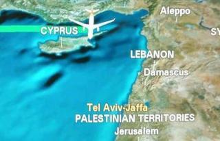 Çin Havayolları İsrail'i es geçti
