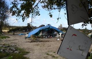 Kamyonun soğuk hava deposunda 13 sığınmacı