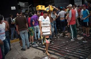 'Venezuela'da ekonomik durum korkunç'