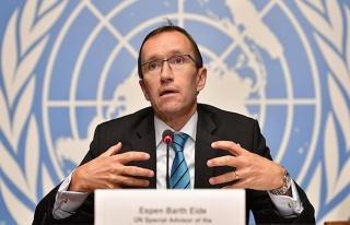 Kıbrıs Özel Danışmanı Eide istifa etti