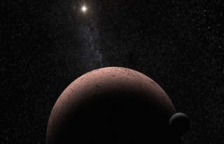 Hubble, Perse Takımyıldızı'ndaki 'kalıntı galaksiyi'...