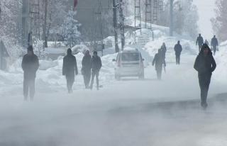 Doğu Anadolu'da Sibirya soğukları etkili oluyor