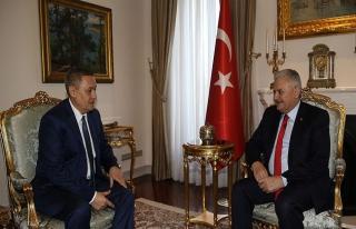 Başbakan Yıldırım, Azimov ile görüştü