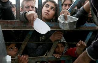 Musul'da evinden olanların sayısı 335 bine yükseldi