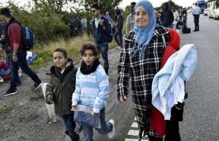 Danimarka sığınmacı çocukları sınırda reddetmeyi...