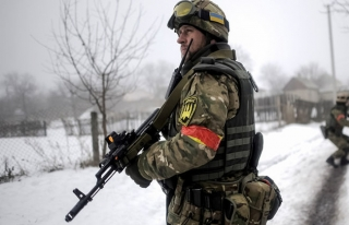 Ukrayna askerlerine Gürcistan'dan eğitim