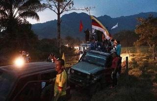 Ekvador'da eski FARC üyelerince kaçırılan gazeteciler...