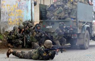 Filipinler'deki uyuşturucu operasyonlarında bir...