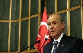Bahçeli: MHP, Sayın Cumhurbaşkanı'nın yanındadır
