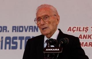 Ünlü Türk hekim Prof. Dr. Rıdvan Ege vefat etti