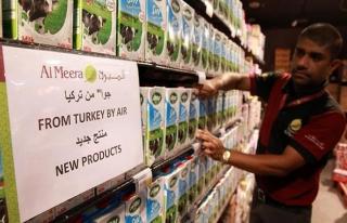 Katar'da Türk gıda ürünlerine büyük ilgi