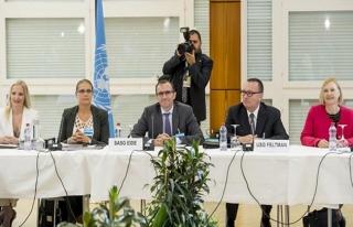 İsviçre'deki Kıbrıs Konferansı'ndan ilk açıklama