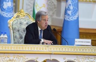 Guterres'den 'Kıbrıs' açıklaması