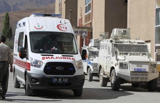 Hakkari'deki terör saldırısında 1 şehit