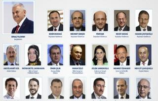 Başbakan Yıldırım yeni kabineyi açıkladı......
