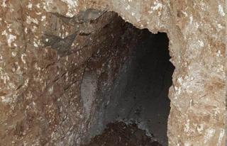 Nusaybin'de tünel bulundu