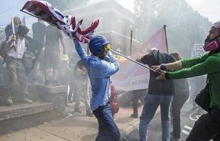 ABD'deki Yahudi ve Müslümanlardan ırkçı göstericilere...