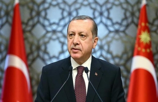 Cumhurbaşkanı Erdoğan'dan milli sporcuları tebrik