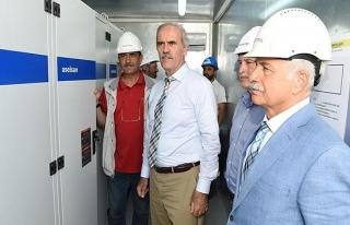 Türkiye'nin ilk yerli rüzgar gülü Bursa'daki RES'te