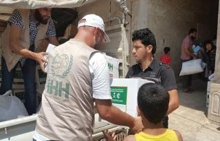 İHH'dan Suriye'deki Iraklı mültecilere destek