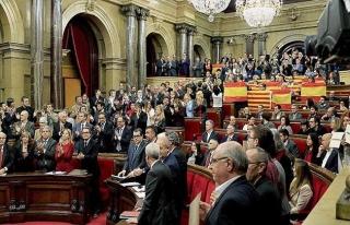 Katalonya hükümeti bağımsızlık referandumundan...