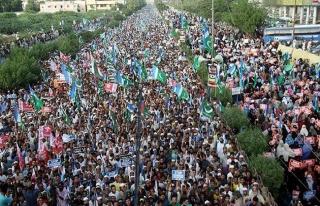 Pakistan'da Arakanlı Müslümanlara destek gösterisi...