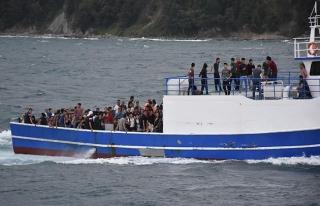 Karadeniz'de 153 kaçak göçmen kurtarıldı