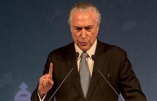 Brezilya Devlet Başkanı Temer için soruşturma...