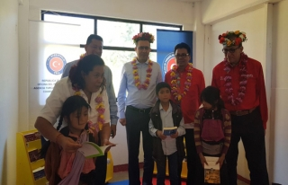 TİKA Meksika'da 8 köy okuluna kütüphane kurdu
