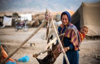 İran'ın Kuzey Horasan eyaletindeki göçebe hayatı