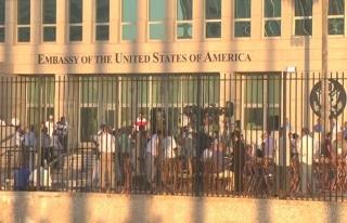 ABD, büyükelçilerinin sağır olduğu Havana Büyükelçiliği'ni...