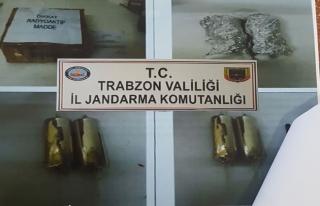 Trabzon'da nükleer sanayide kullanılan madde ele...