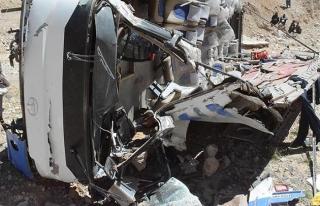 Meksika'daki otobüs kazasında 15 ölü, 30 yaralı